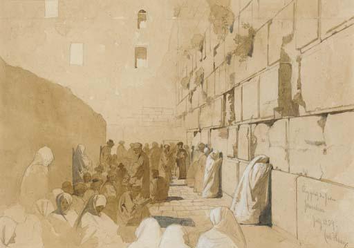 File:Carl Haag The Wailing Wall 1859.jpg