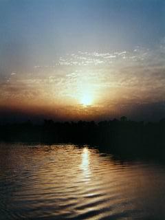 Sonnenaufgang über dem Nil