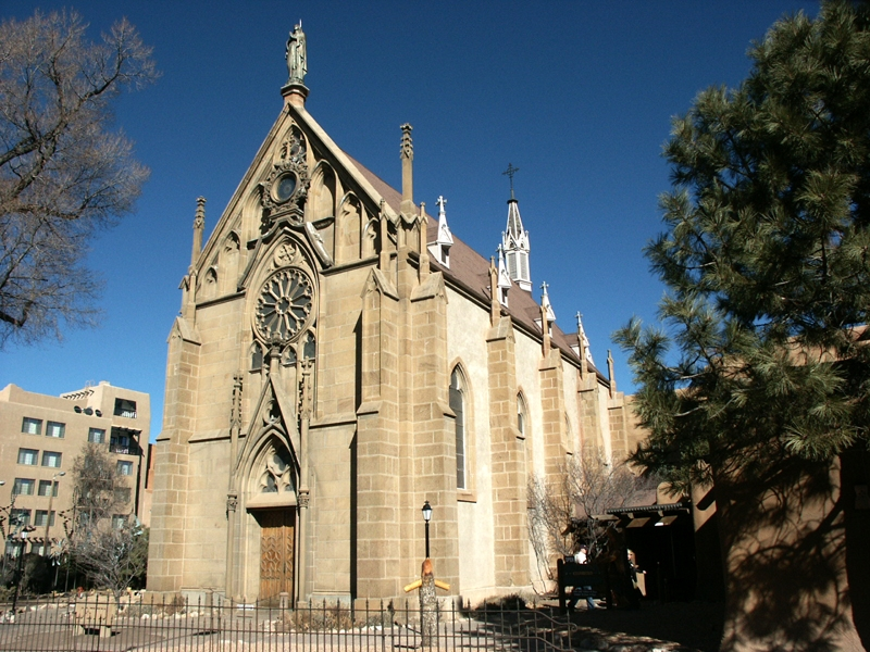 Loretto Chapel Wikipedia   Stairway Of Loretto Chapel   Original   Sister   Story   Spiral   Mysterious