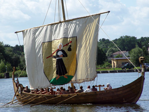 Modern Viking Ship