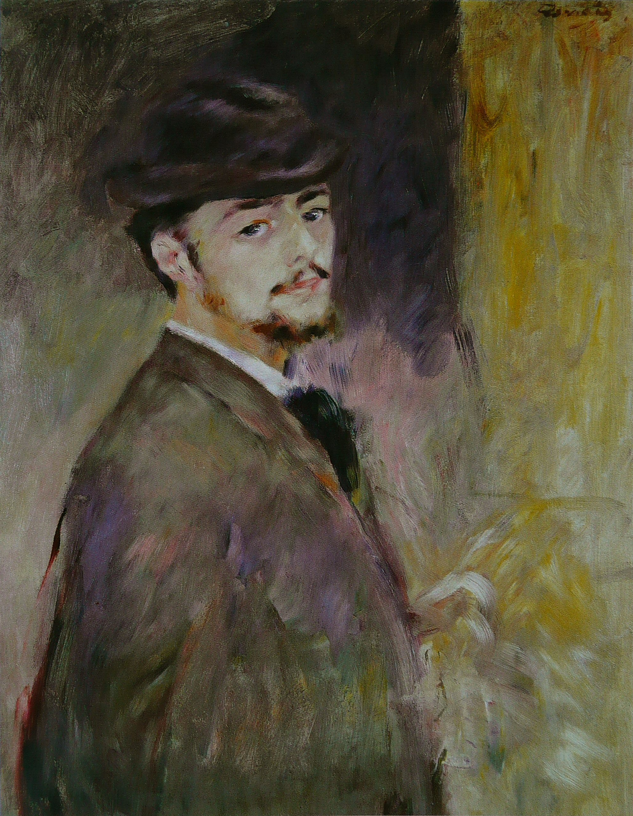 Self-portrait, (1876)