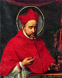 St. Robert Bellarmine, taken from Wikipedias article on him