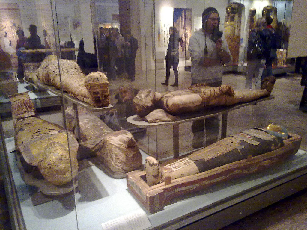 File Egyptian Mummies British Museum