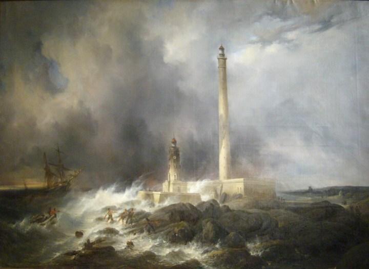 Vue du phare de Gatteville