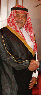 Prince Bandar Bin Sultan, the Saudi Ambassador during the Al-Yamamah deal