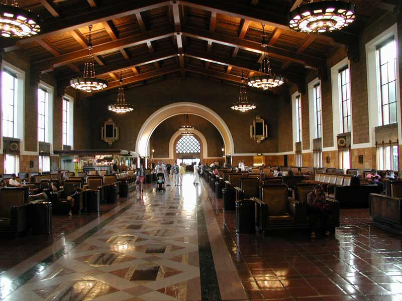 Union Station, Los Angeles, CA, from WikiCommons