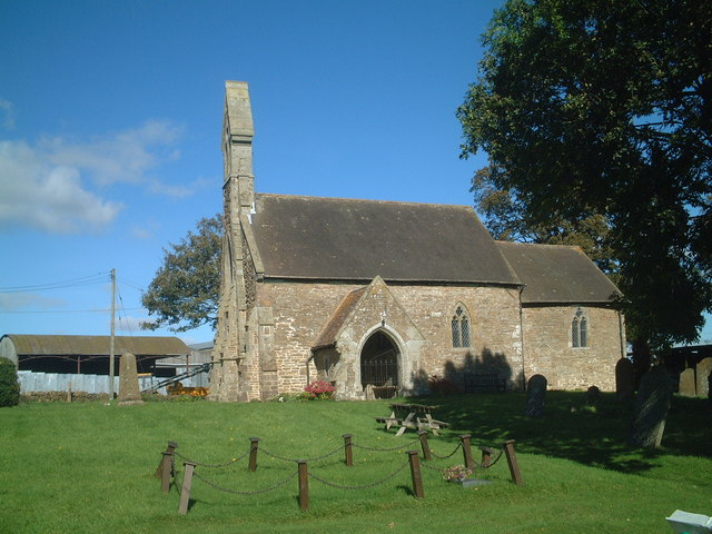 Holy Trinity parish church, Wheathill, Shropshire