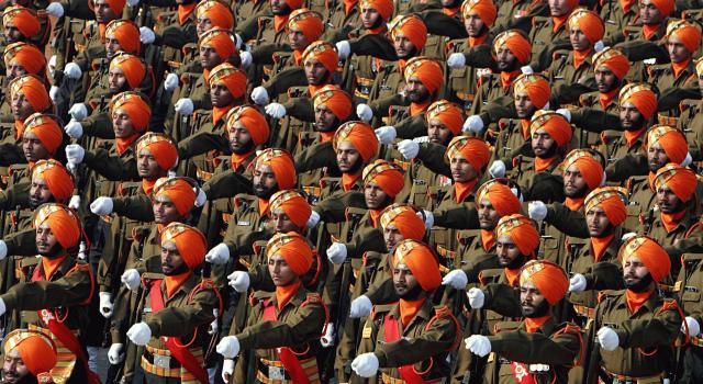 soldati sikh india