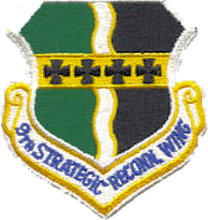 English: 9th Strategic Reconnaissance Wing - E...