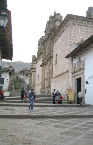 English: City of Cajamarca, Peru. Photo by J. ...