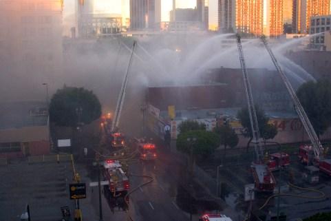 Resultado de imagen de firefighters aerial photo