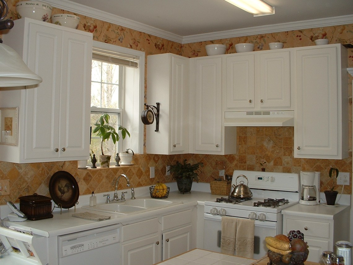 Modern Kitchen Narrow Kitchen Shelves