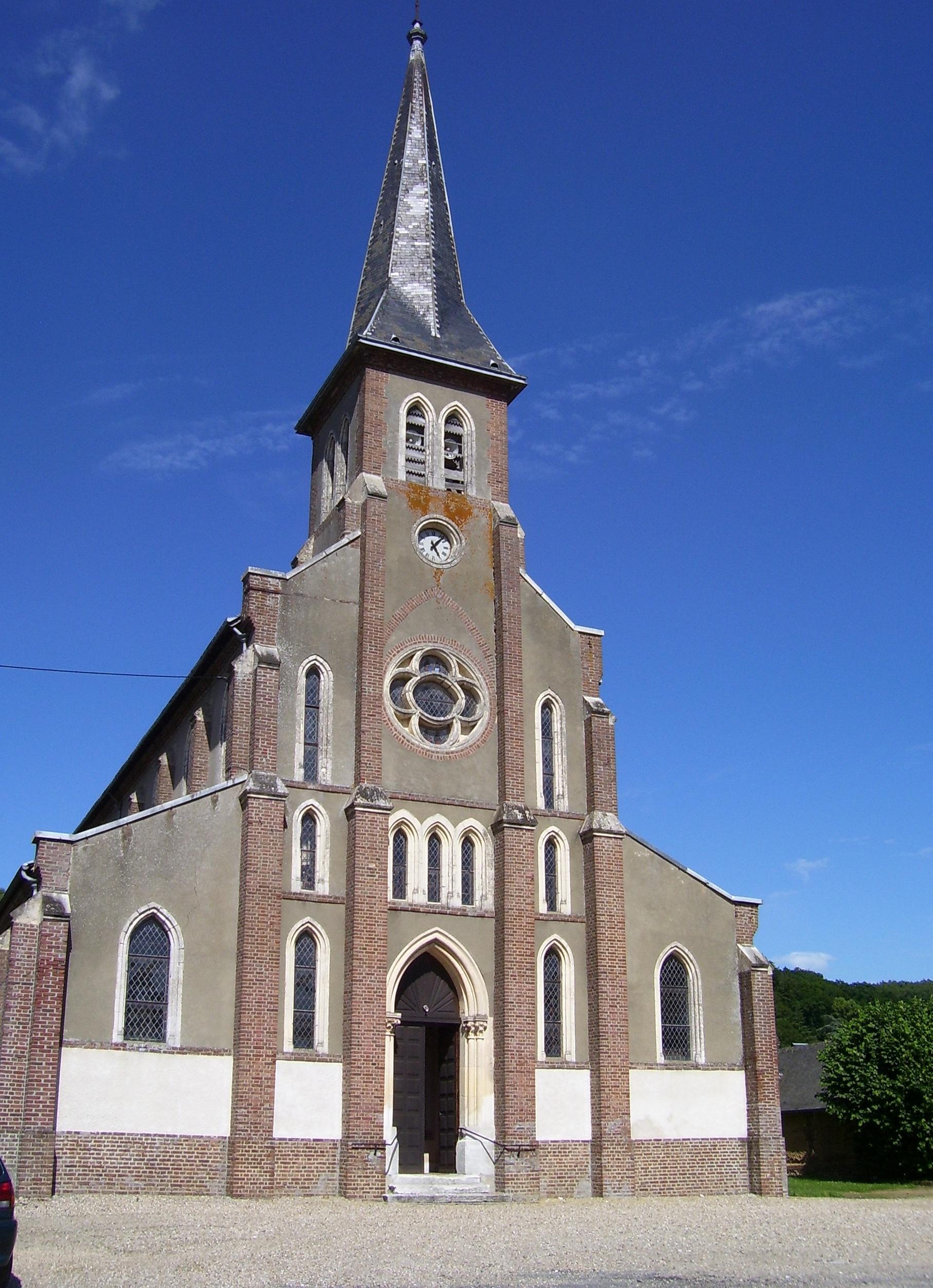 pont-authou église saint-louis