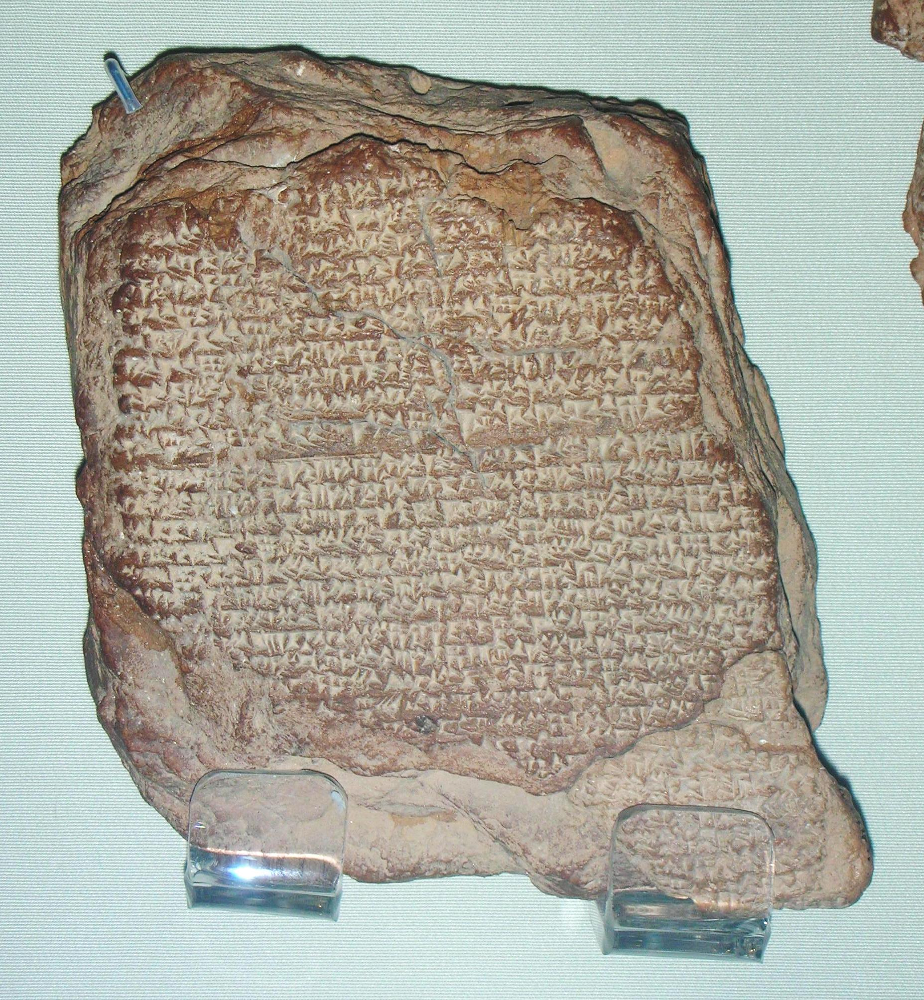 File Cuneiform Tablet Recording Observation Of Halley S