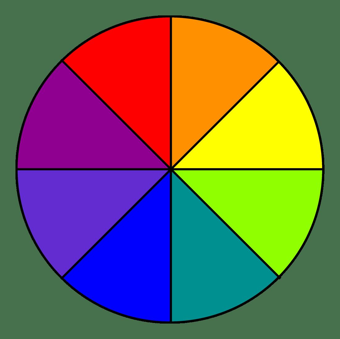 File Eight Colour Wheel 2d