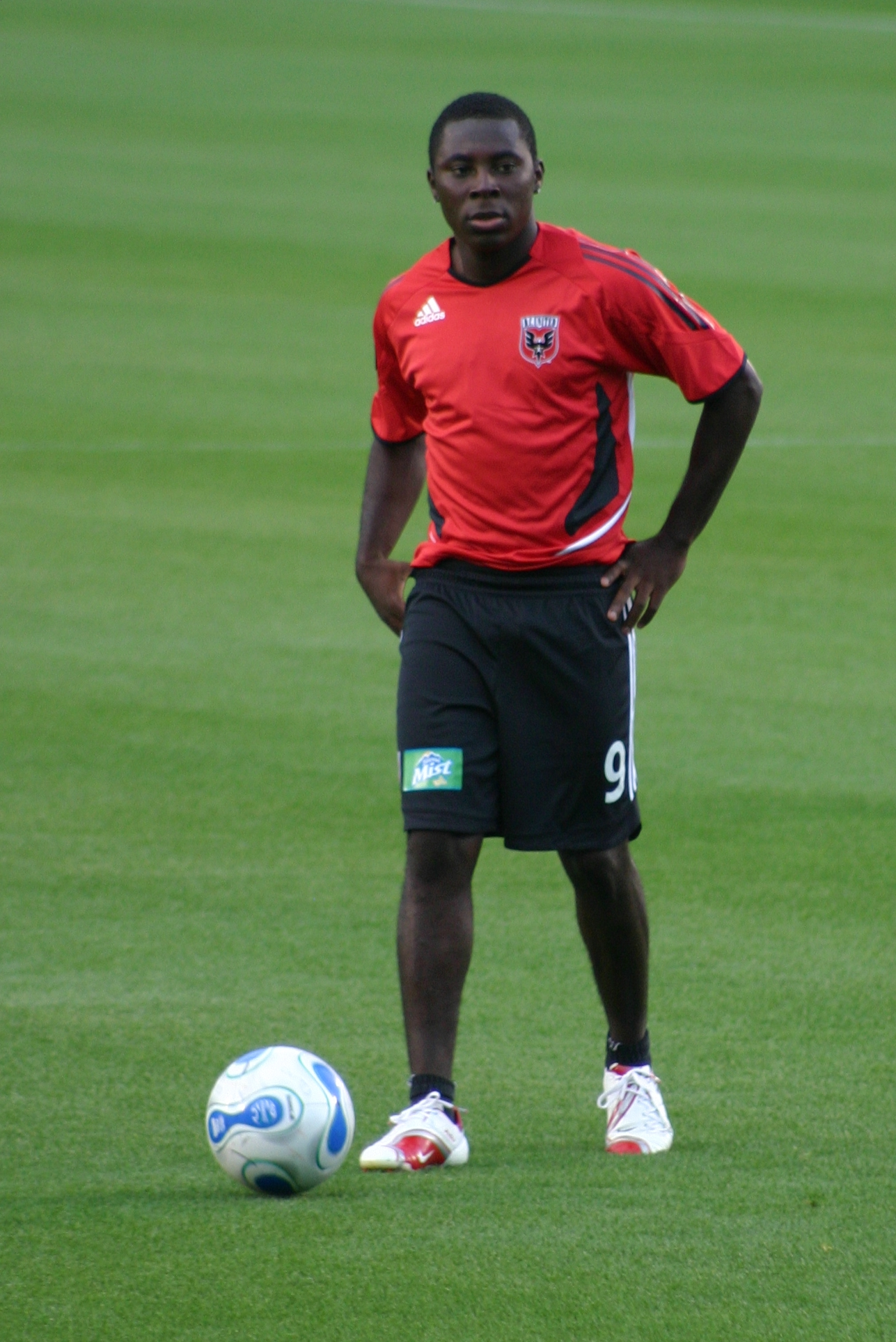 Who for the United States will step-up at the World Cup like Jozy Altidore did in the Confederations Cup? Freddy Adu could make a name for himself again if Bob Bradley gives him the chance. (Couresy Wikicommons)
