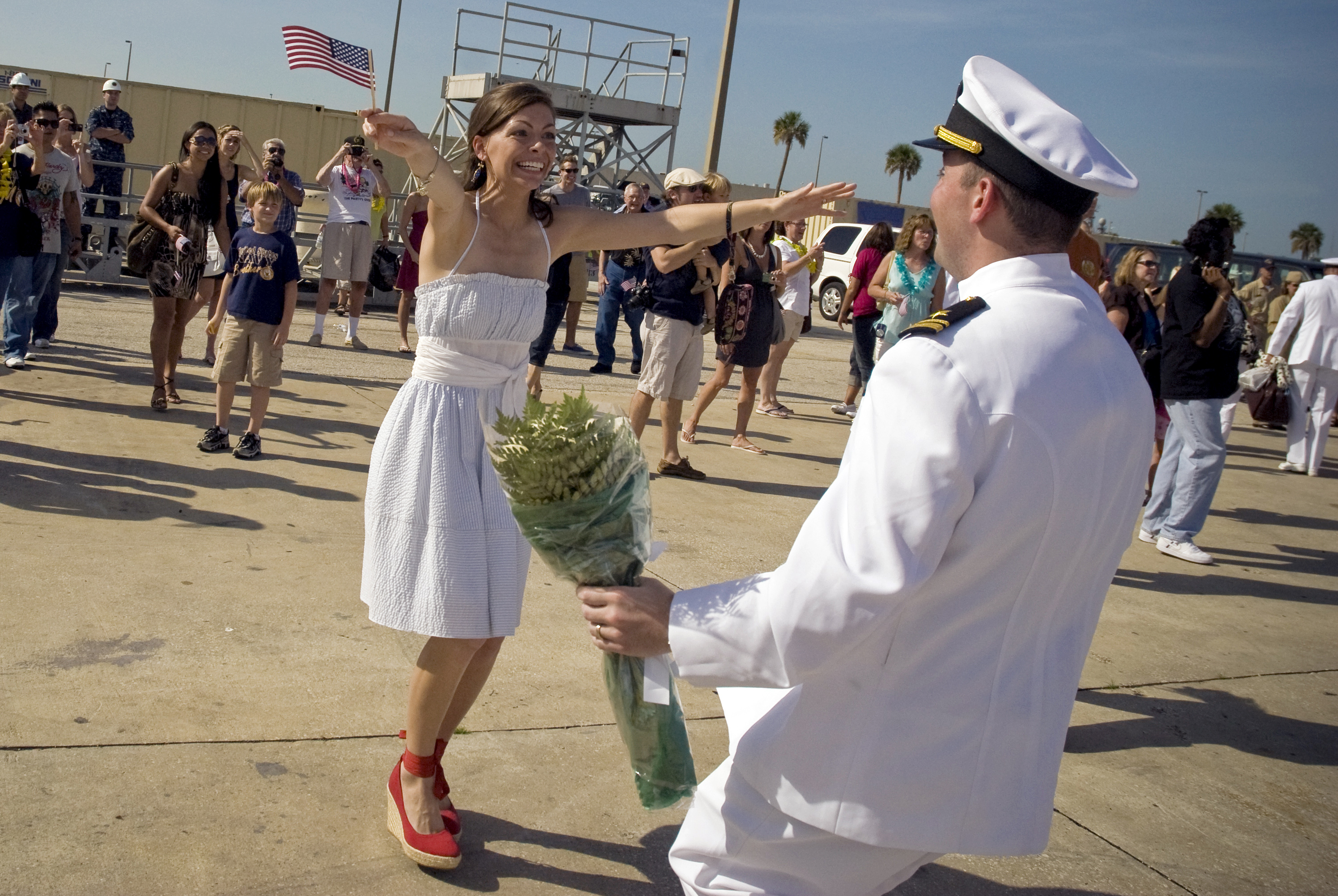 Welcome Home From Deployment Ideas