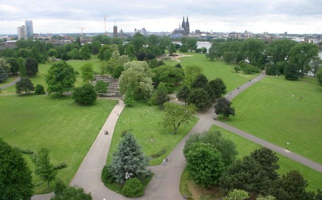 Resultado de imagem para Rheinpark cologne