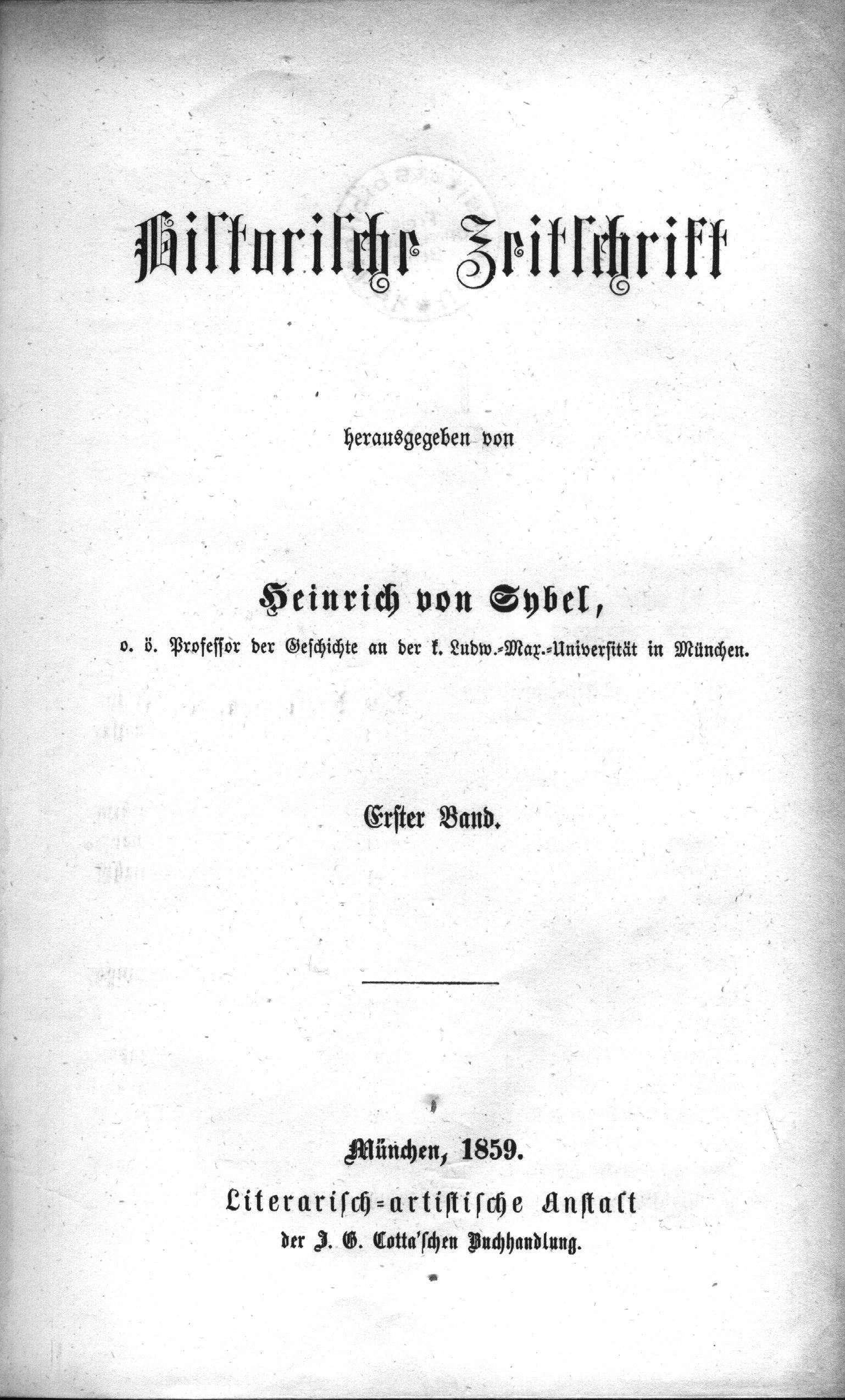 Historische Zeitschrift Wikipedia