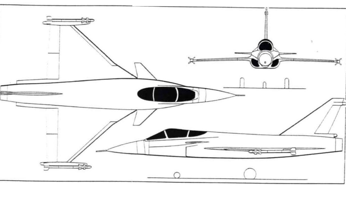 Model Tejas Mk 2 At Aero India