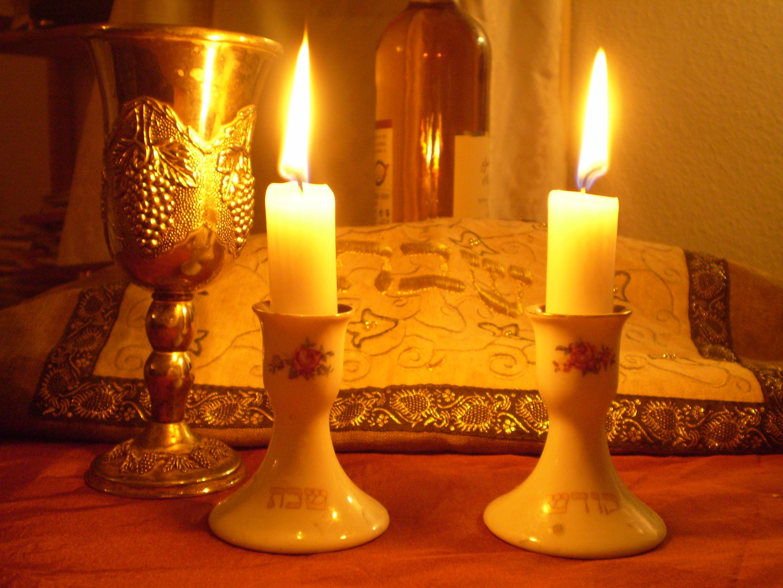 shabbat candles wikipedia