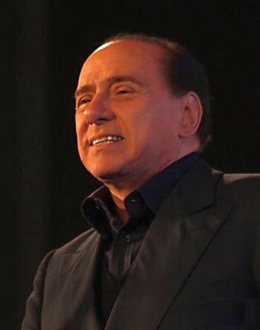 Silvio Berlusconi, foto di Lorenza e Vincenzo Iaconianni, Fotoguru.it. Licenza CC 3.0
