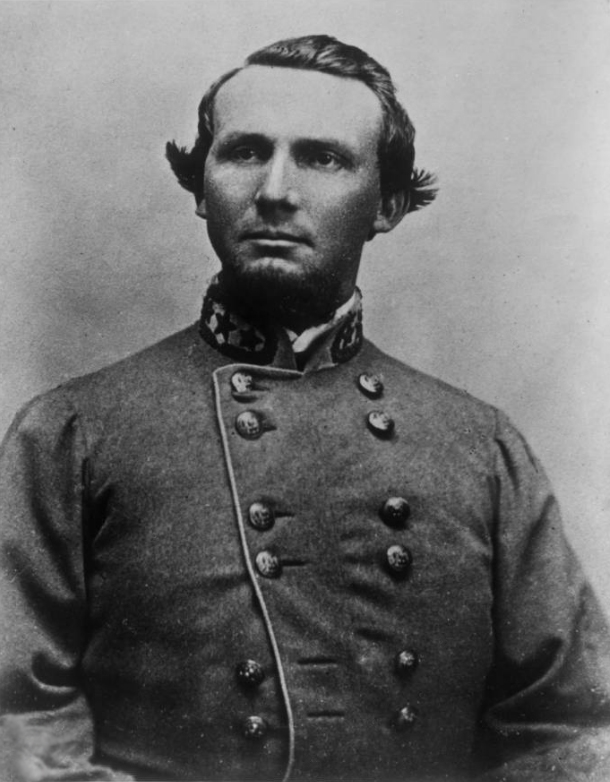 English: Photo of Confederate General States R...