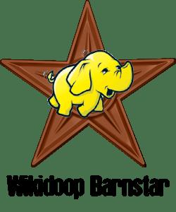 English: Barnstar for using Hadoop on XML Wiki...