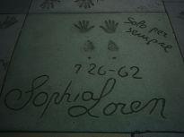 Straatsteen van Sophia Loren voor het Chinese ...