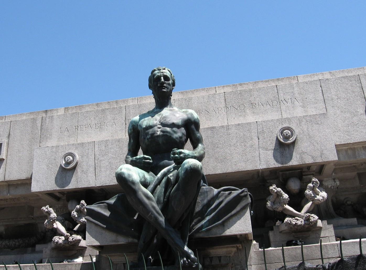 La estatua de Miserere - Obscura Buenos Aires