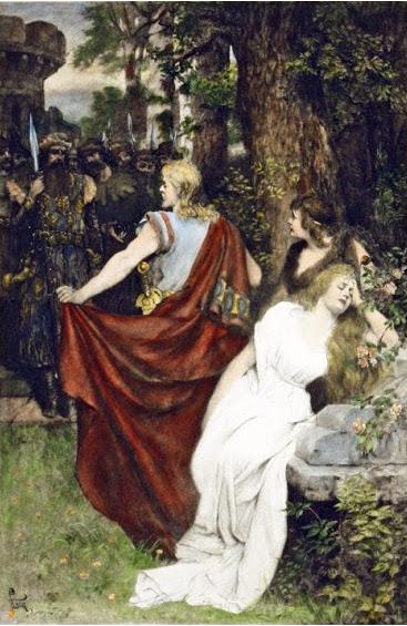 Tristan und Isolde by Ferdinand Leeke