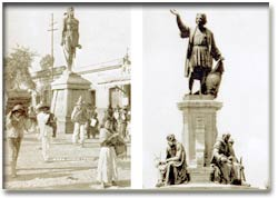 English: Monuments in Paseo de la Reforma, Mex...