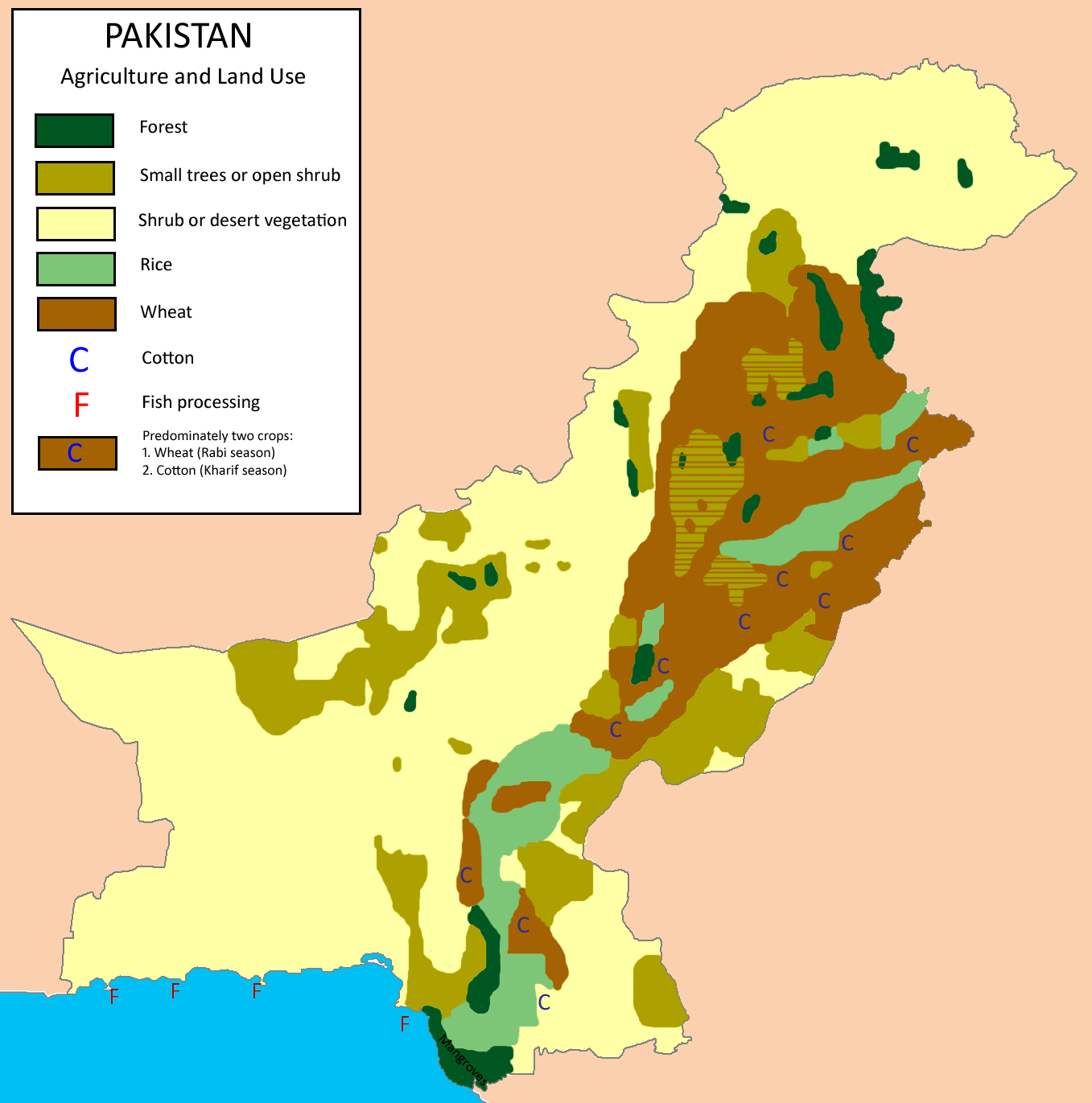 Anthropology Of Accord Map On Monday Pakistan
