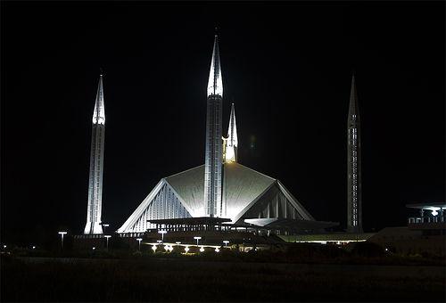 Imran wazeer, Shah Faisal Masjid,