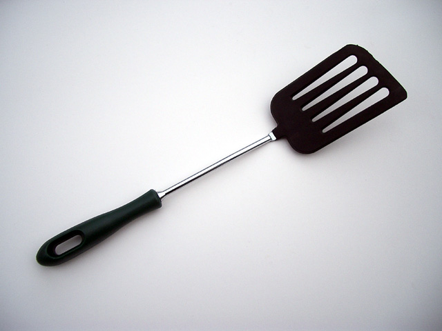 A common spatula design. Original uploader was Jcvamp at en.wikipedia (Original text : FreeDigitalPhotos.net)