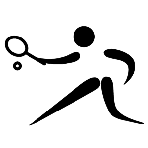 Pictograms of Olympic sports - Tennis