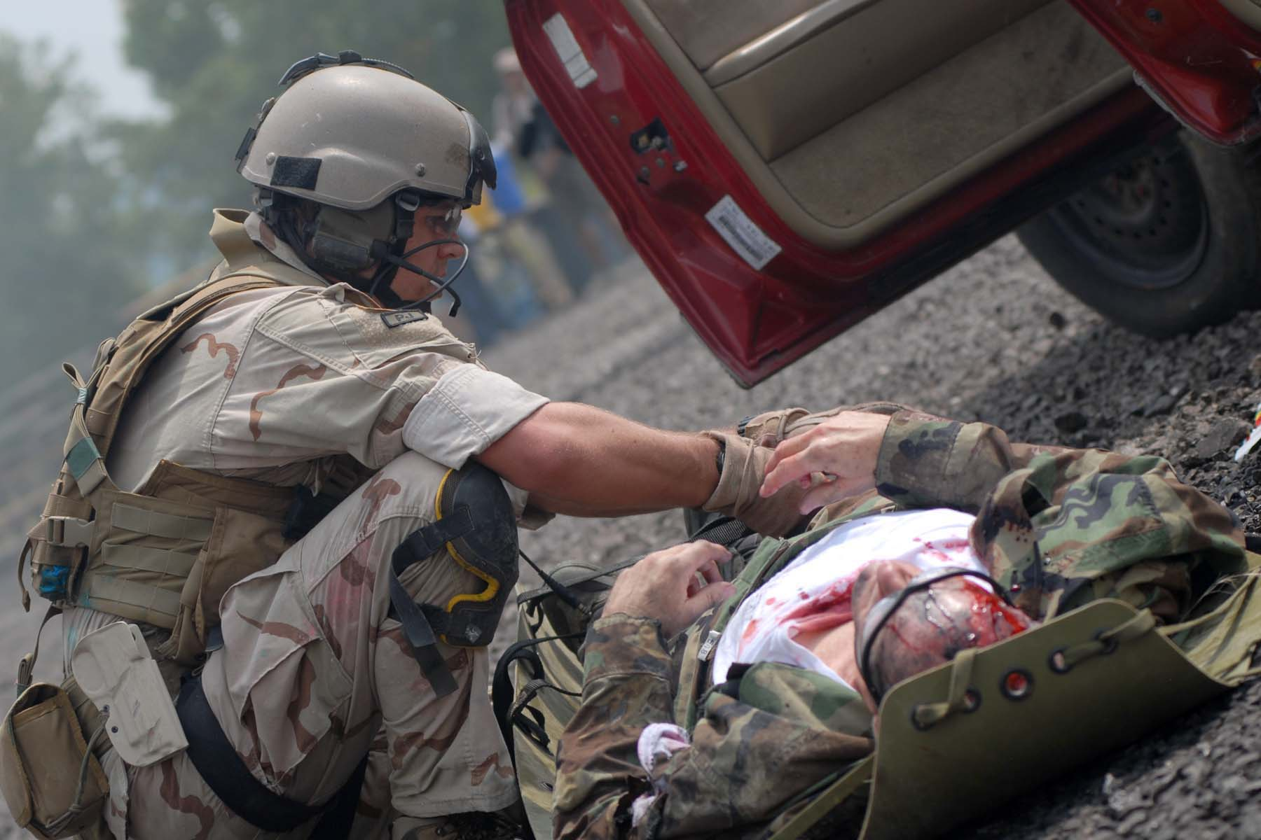File Pj In Mass Casualty Exercise During Special