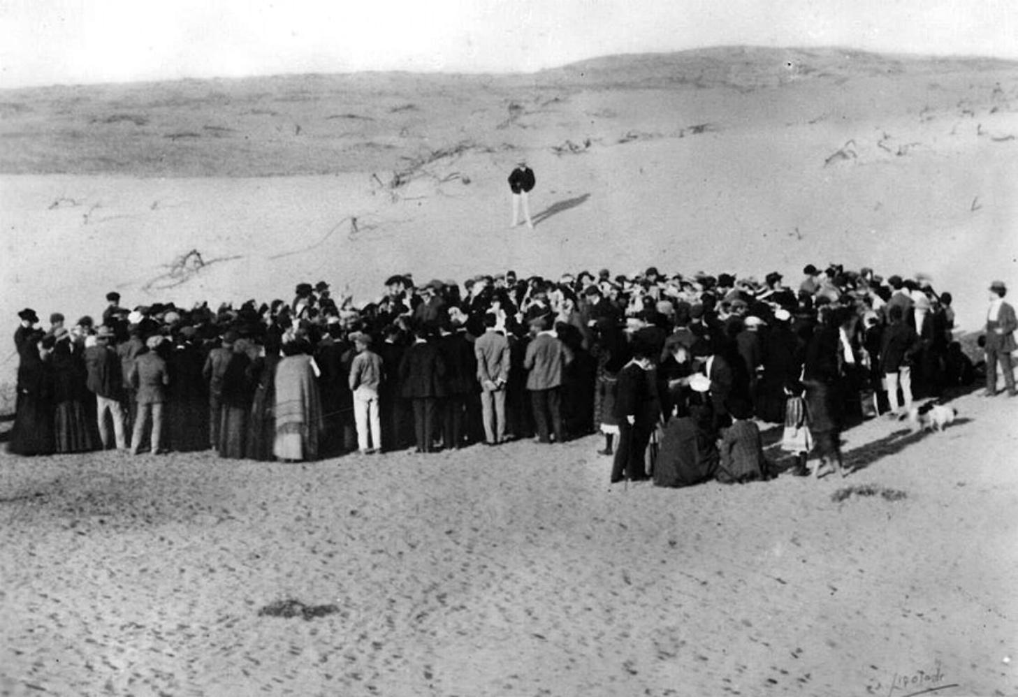 את הקמתו של תל אביב, 1909