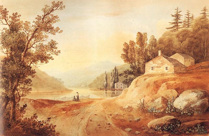 File:William Guy Wall's watercolor 'View Near Fishkill', ca. 1820-1825.jpg