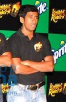 Wriddhiman Saha at the Knight Riders felicitation