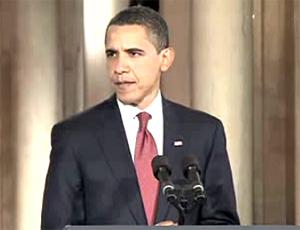 English: A screengrab from President Barack Ob...