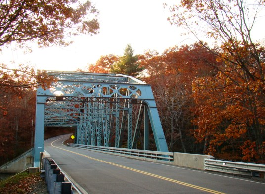 Butts Bridge Over Quinebaug River, Canterbury CT, the river analyzed in Kevin Franklin's historical research