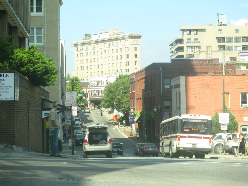 Asheville  North Carolina   Familypedia   FANDOM powered by Wikia Another look at downtown Asheville