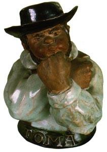 Zé Povinho, caricature of a Portuguese working...