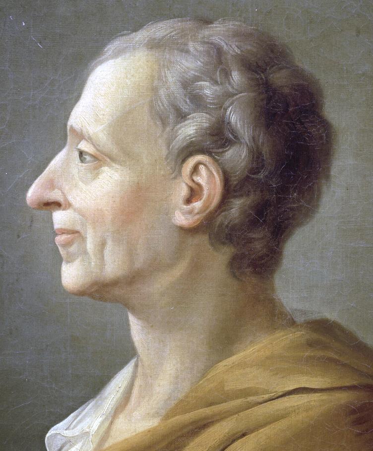 Baron de Montesquieu theorized the principle o...