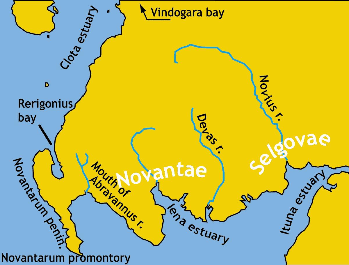 British tribes of Galloway during Roman era.