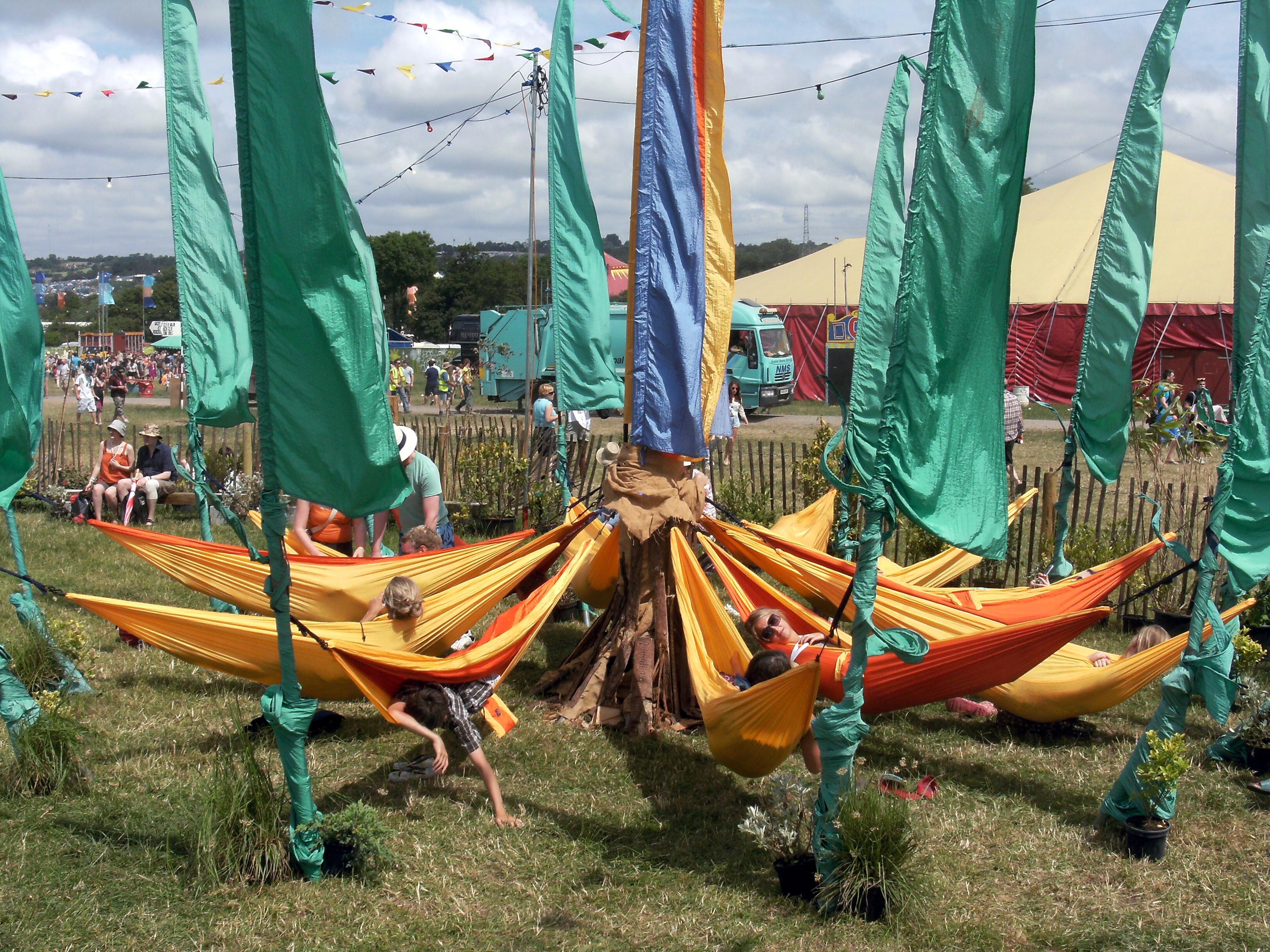 Basic Camping Hammock Setup