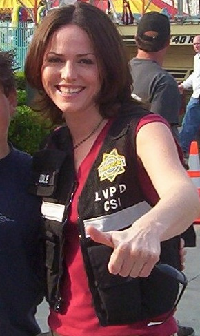 Actress Jorja Fox