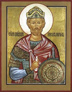 Orthodox Icon of Jesus of Navi (Joshua)