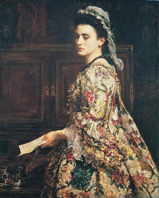 English: Vanessa, 1868, by John Everett Millais
